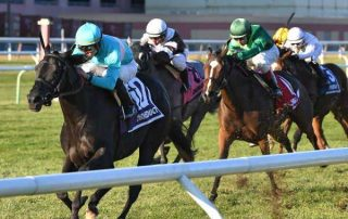 Rymska goes last to first in Winter Memories Stakes