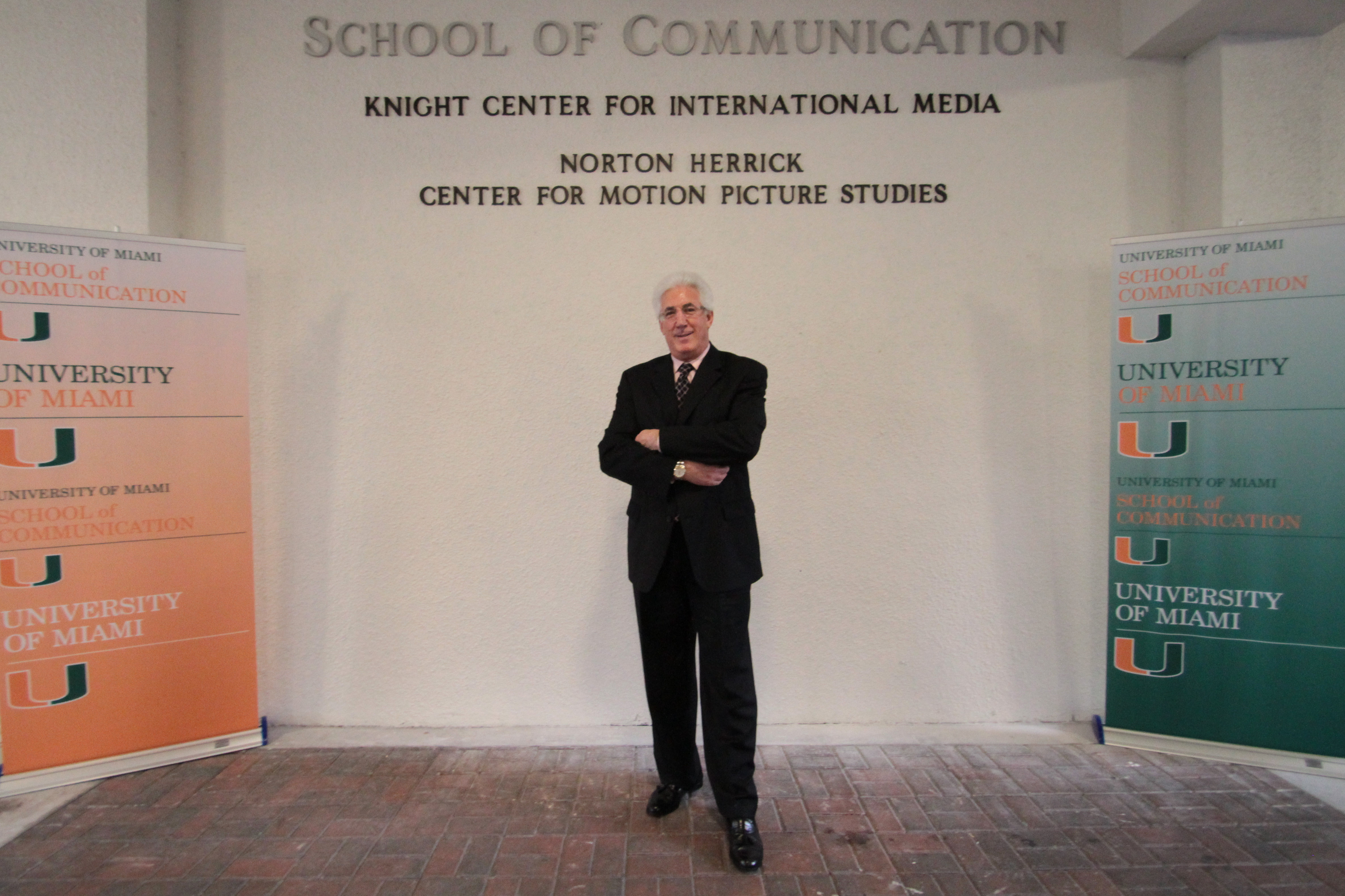 Norton Herrick at the Norton Herrick Center for Motion Picture Studies